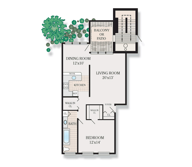 FLOOR PLANS - Lakeview Apartments for rent in Blackwood, NJ