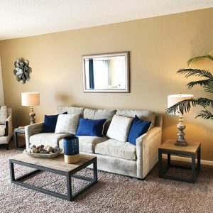 Lakeview Apartments For Rent in Blackwood, NJ Living Room